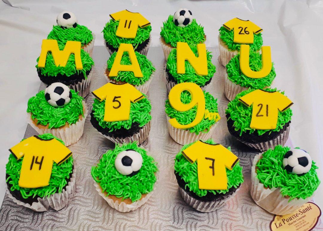 Cupcakes soccer