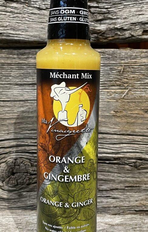 Vinaigrette orange et gingembre Méchant Mix