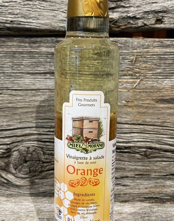 Vinaigrette à l'orange Miel Morand
