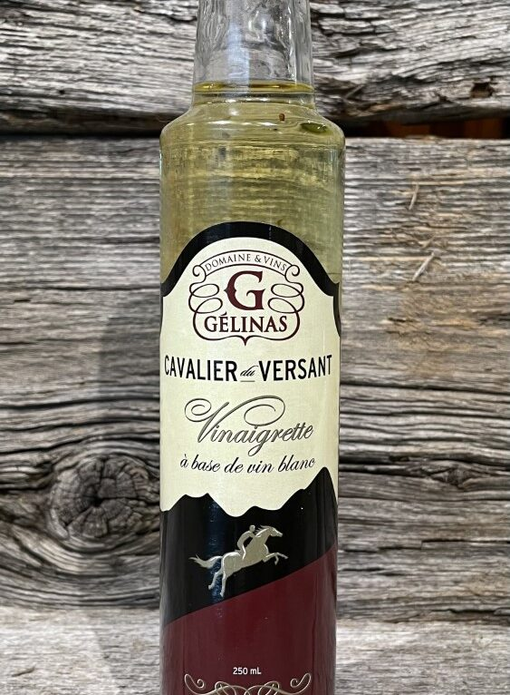 Vinaigrette Cavalier Versant Domaine et vins Gélinas