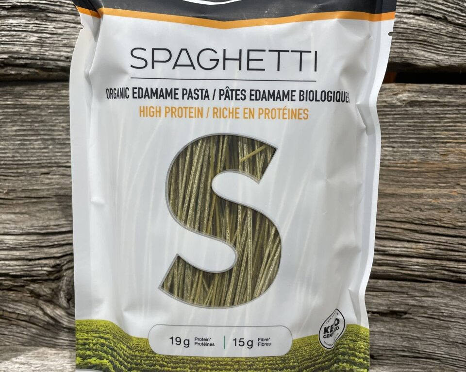 Spaghetti pâte édamame biologiques