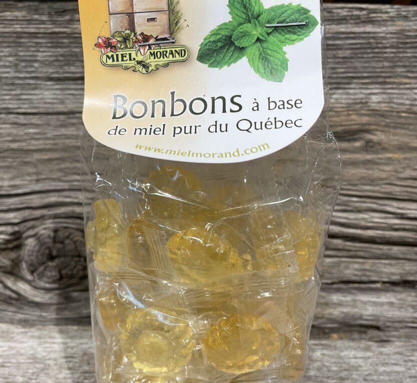 Bonbon miel et menthe