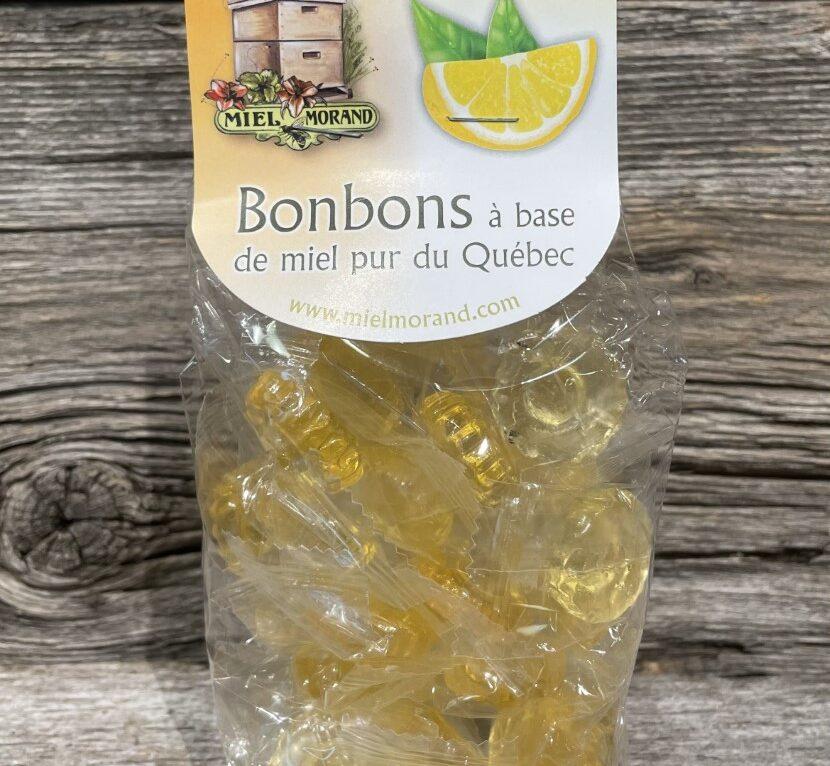 Bonbon miel et citron