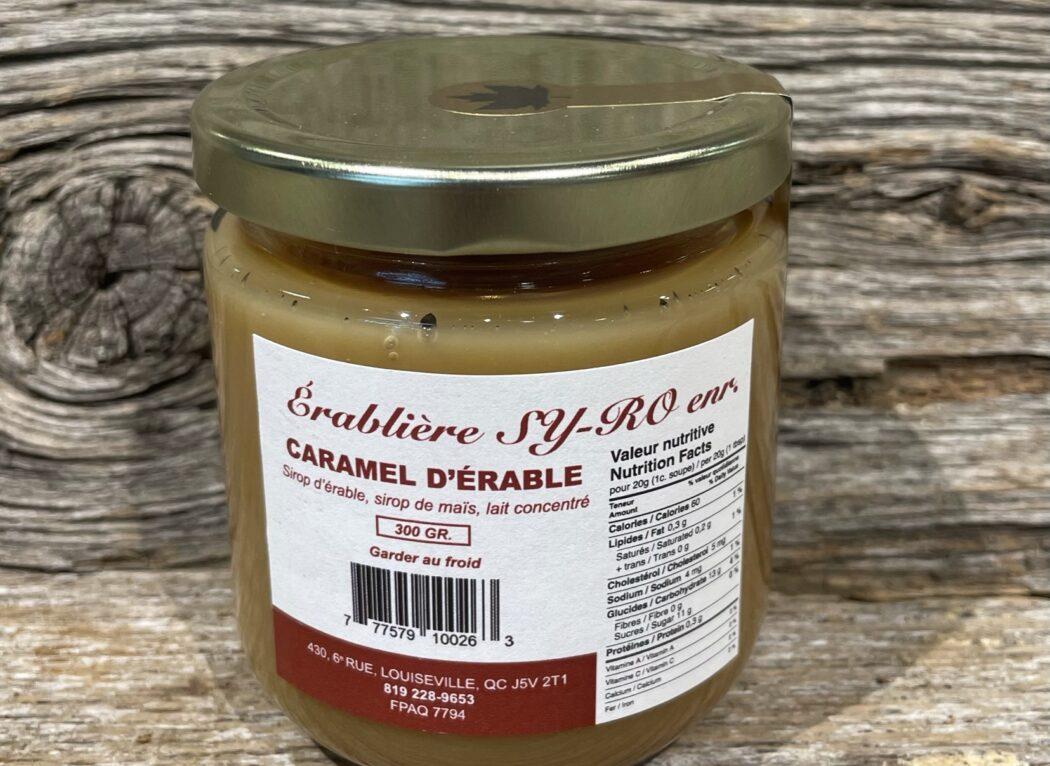 Caramel d'érable, Érablière Sy-Ro