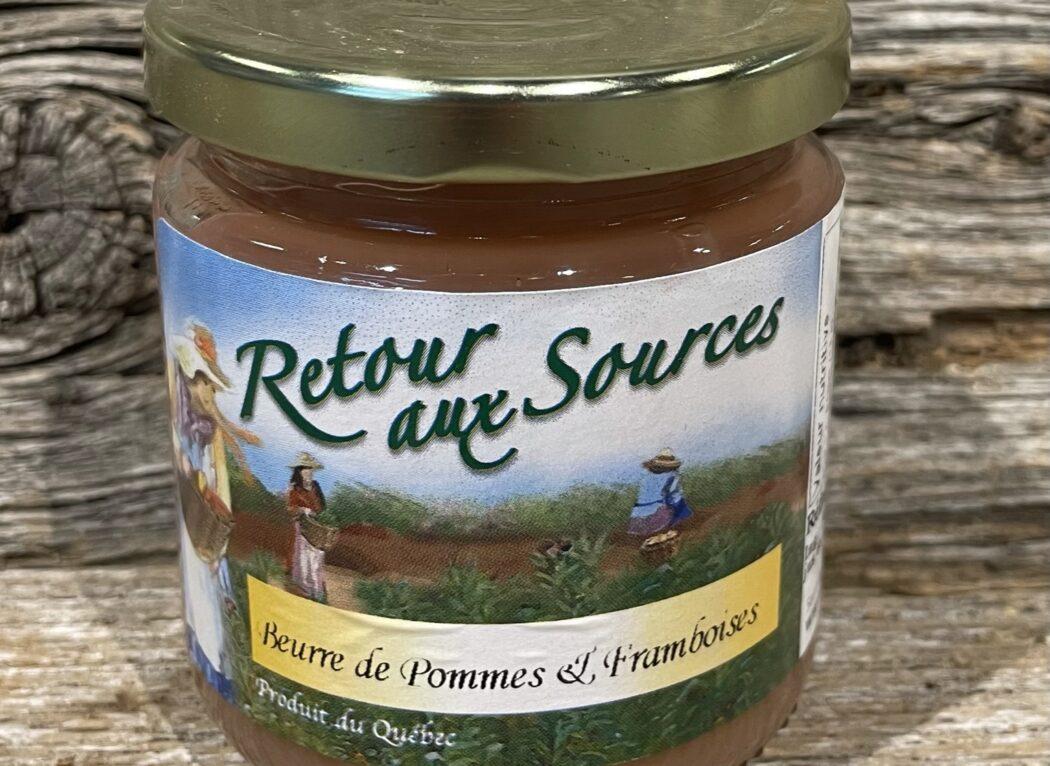 Beurre de pommes et framboises, Retour aux Sources