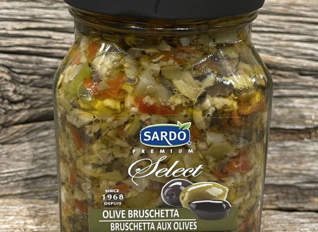Bruschetta aux olives, Sardo