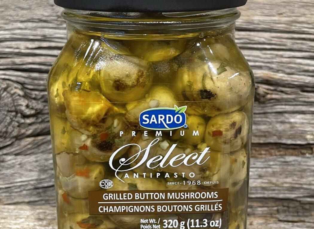 Champignon boutons grillés, Sardo