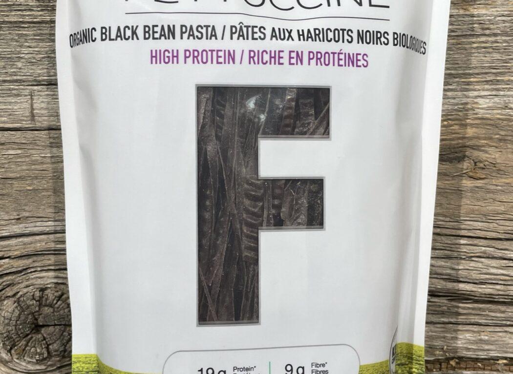 Fettucine aux haricots noirs biologiques, LIVIVA