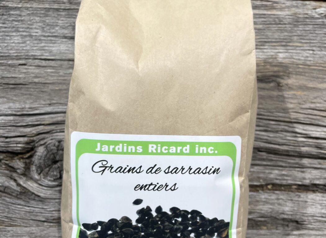 Grains de sarrasin entier, Jardins Ricards