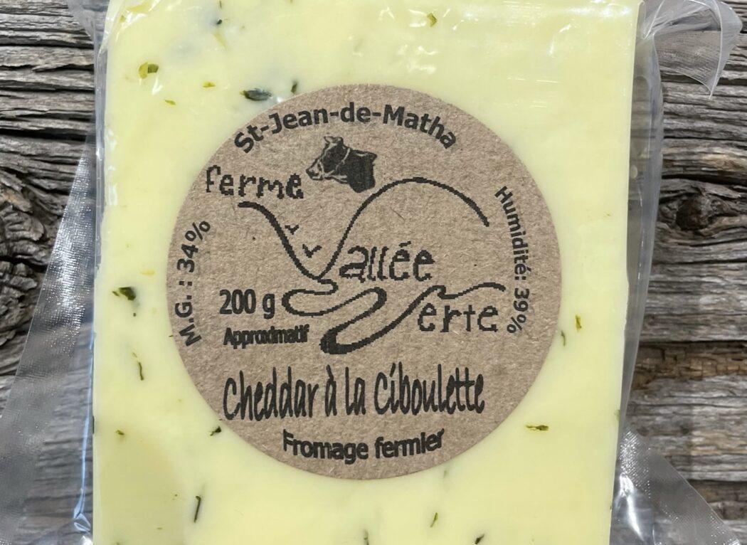 Fromage à la ciboulette, Ferme Vallée Verte